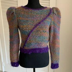 Authentic vintage Phyllis Sues crop sweater